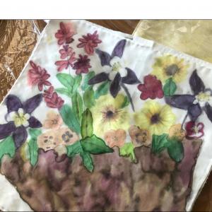 Chantal Reme – Silk Scarf Painting