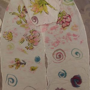 Donna Holland – Watercolor Scarf