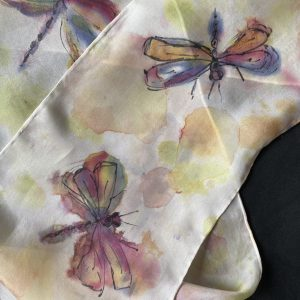 Judith Dutton – Silk Scarf Painting Two