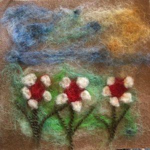 Mindy Shapiro – Needle Felting – Joyful Flowers