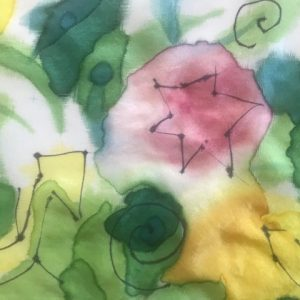 Peter Lister – Silk Scarf Painting Four
