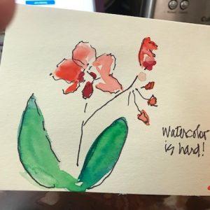Cynthia Lister – Watercolor Etegami